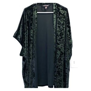 Green Velvet Victoria's Secret Kimono / Robe - XS